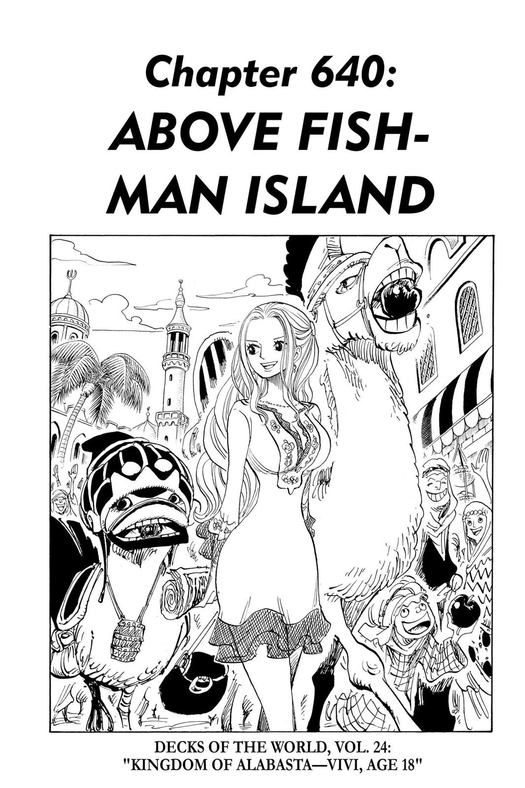 One Piece, Chapter 640 image 001