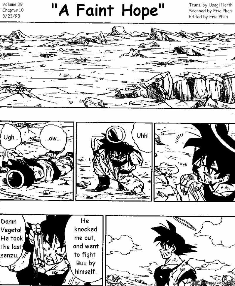 Dragon Ball, Chapter 470 image 001