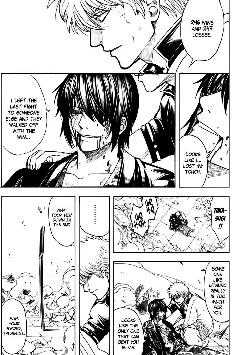 Gintama Chapter, 703 image 035