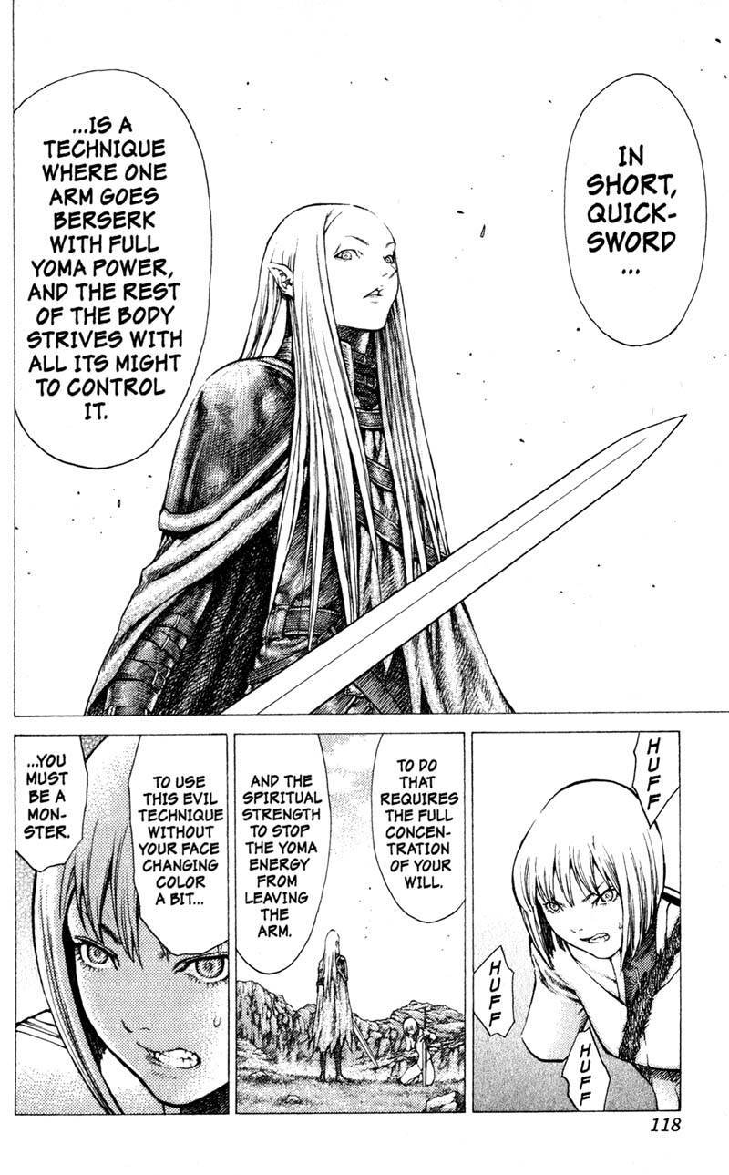 Claymore, Chapter 37 image 029