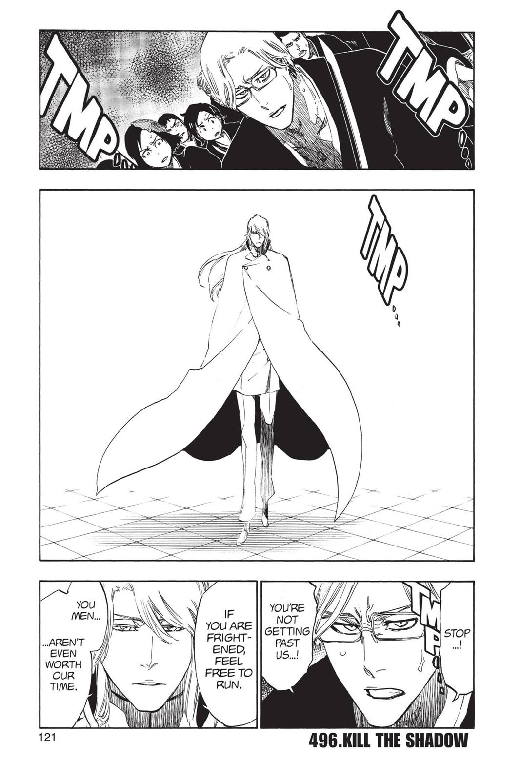 Bleach, Chapter 496 image 001