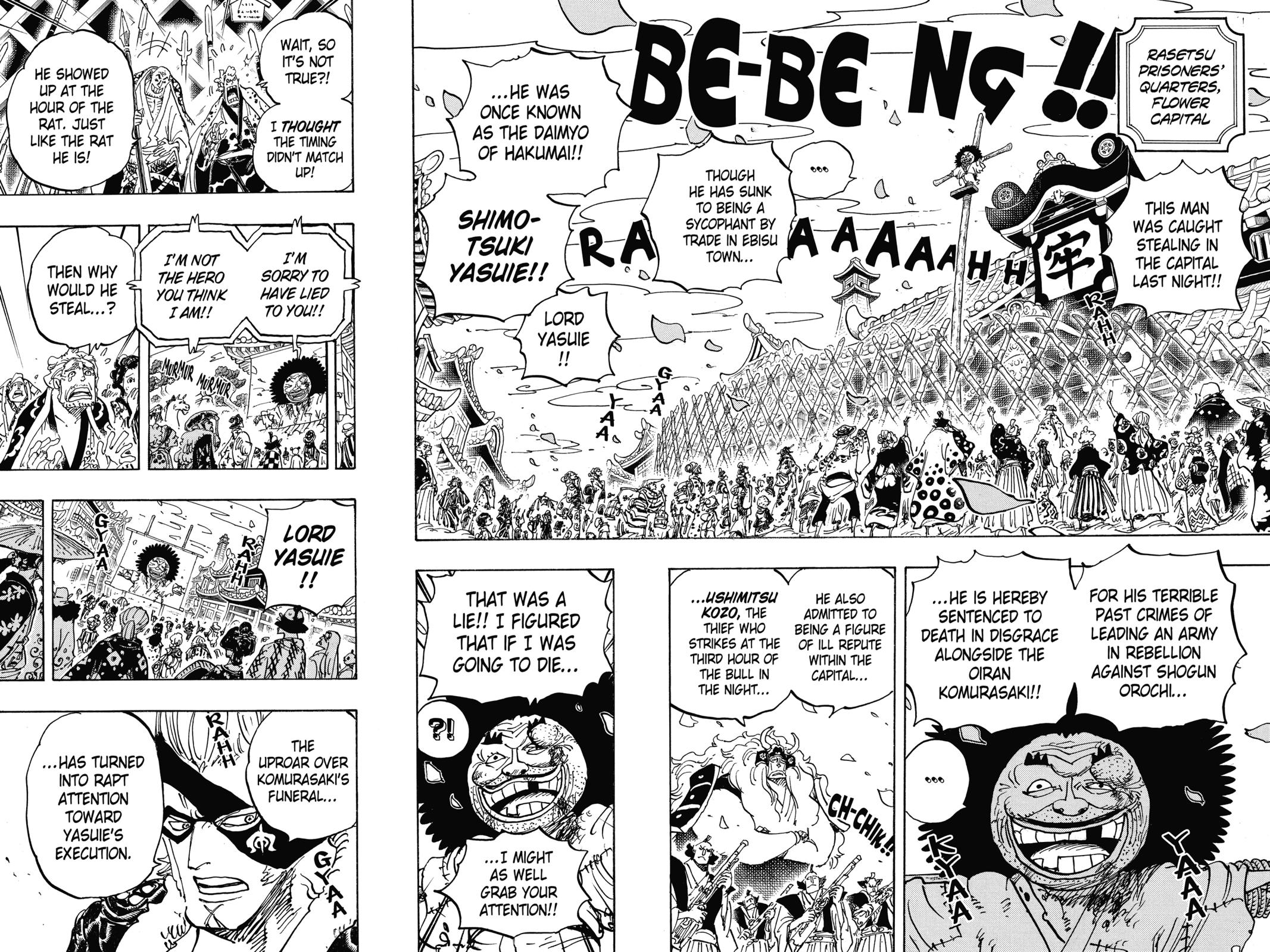 One Piece, Chapter 942 image 004