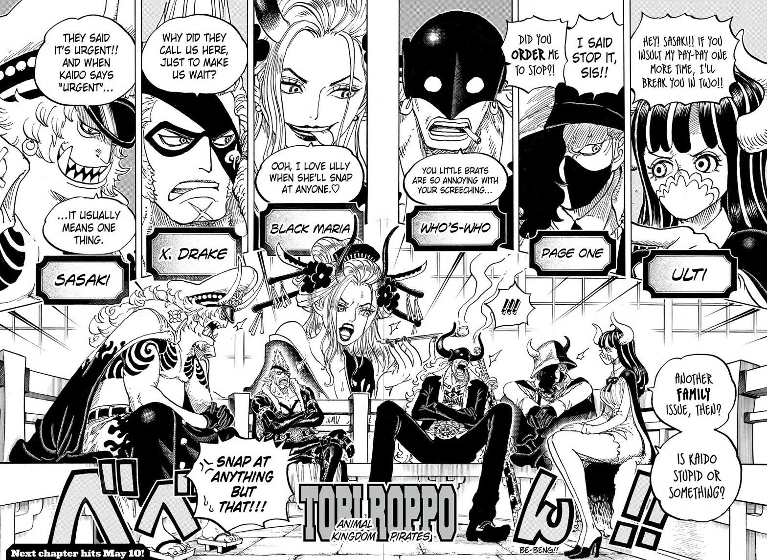 One Piece, Chapter 978 image 014