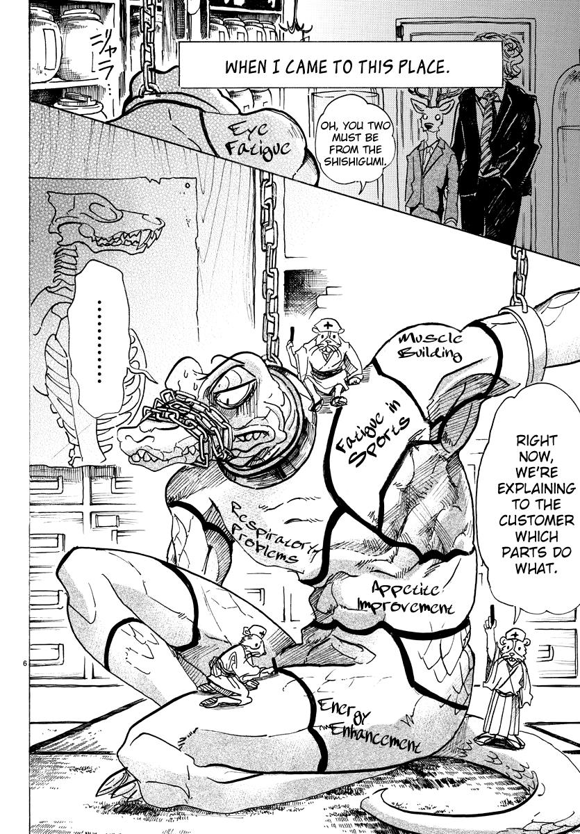 Beastars Manga, Chapter 80 image 007