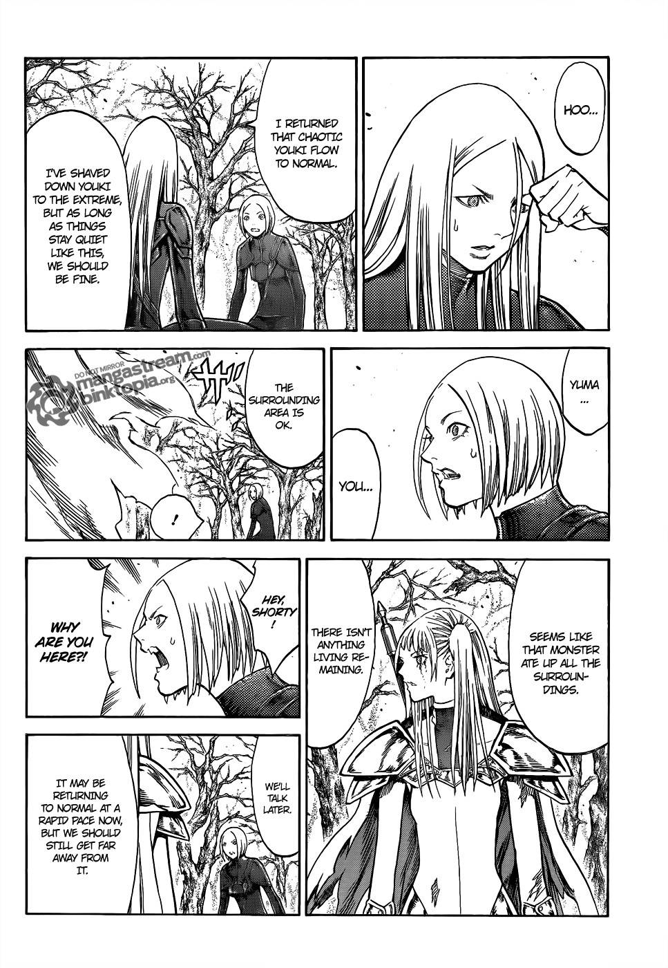 Claymore, Chapter 105 image 029