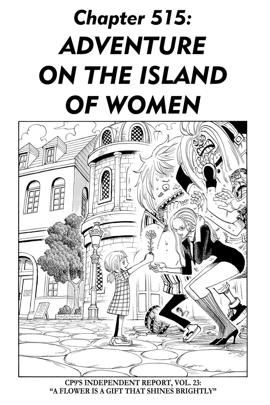 One Piece, Chapter 515 image 001