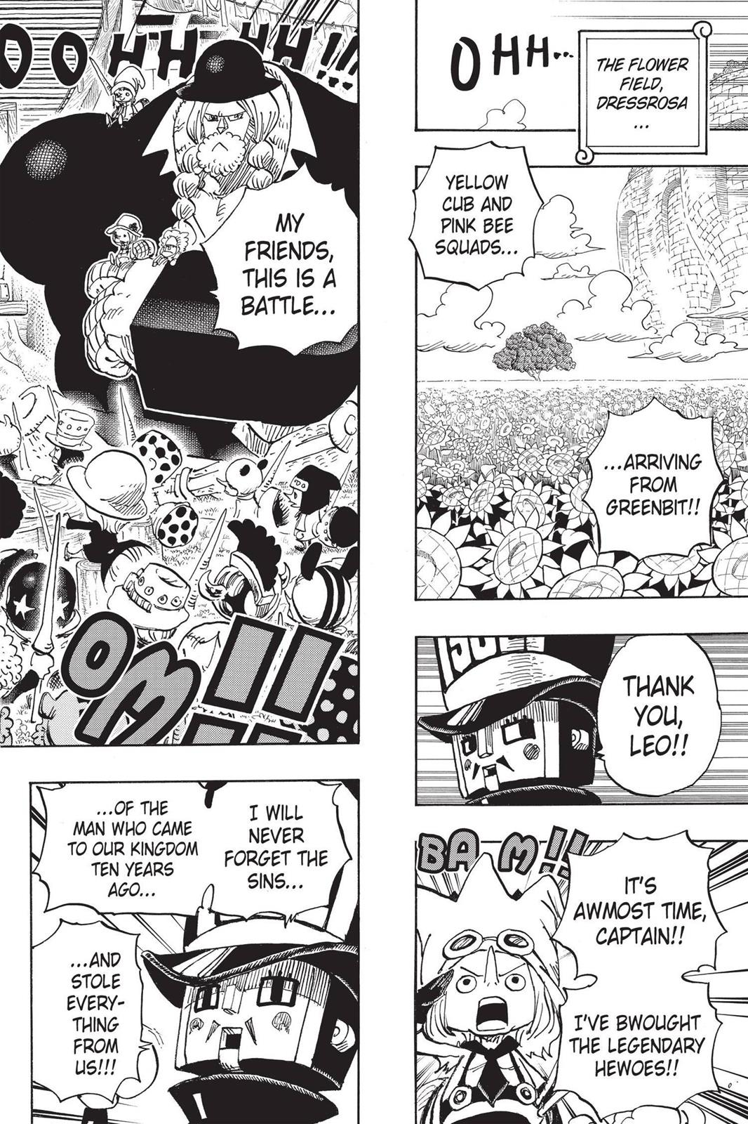 One Piece, Chapter 722 image 017