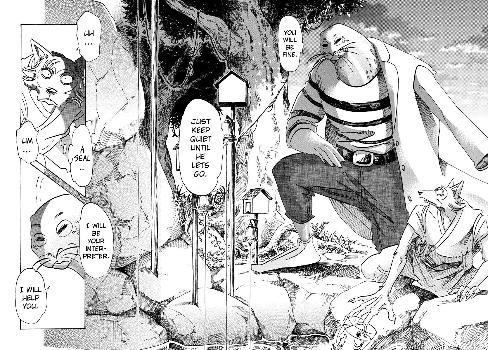Beastars Manga, Chapter 108 image 016
