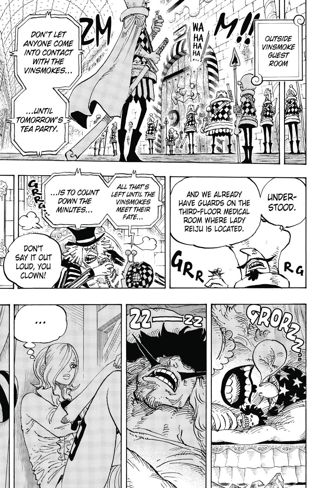 One Piece, Chapter 856 image 007