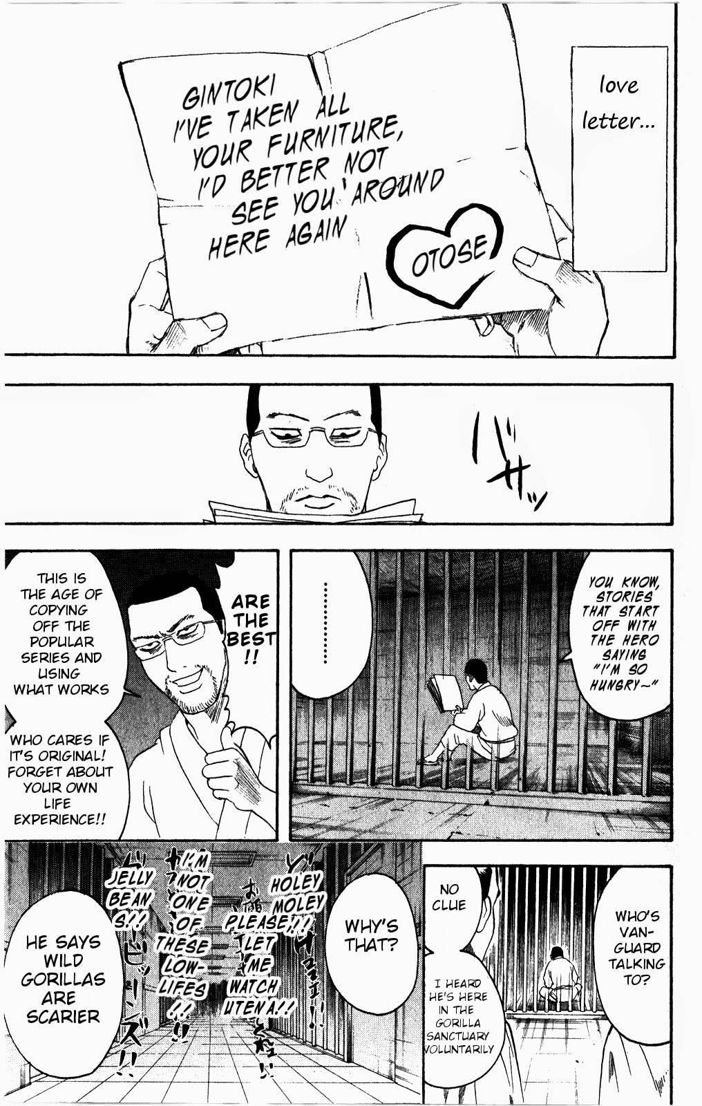 Gintama Chapter, 361 image 026