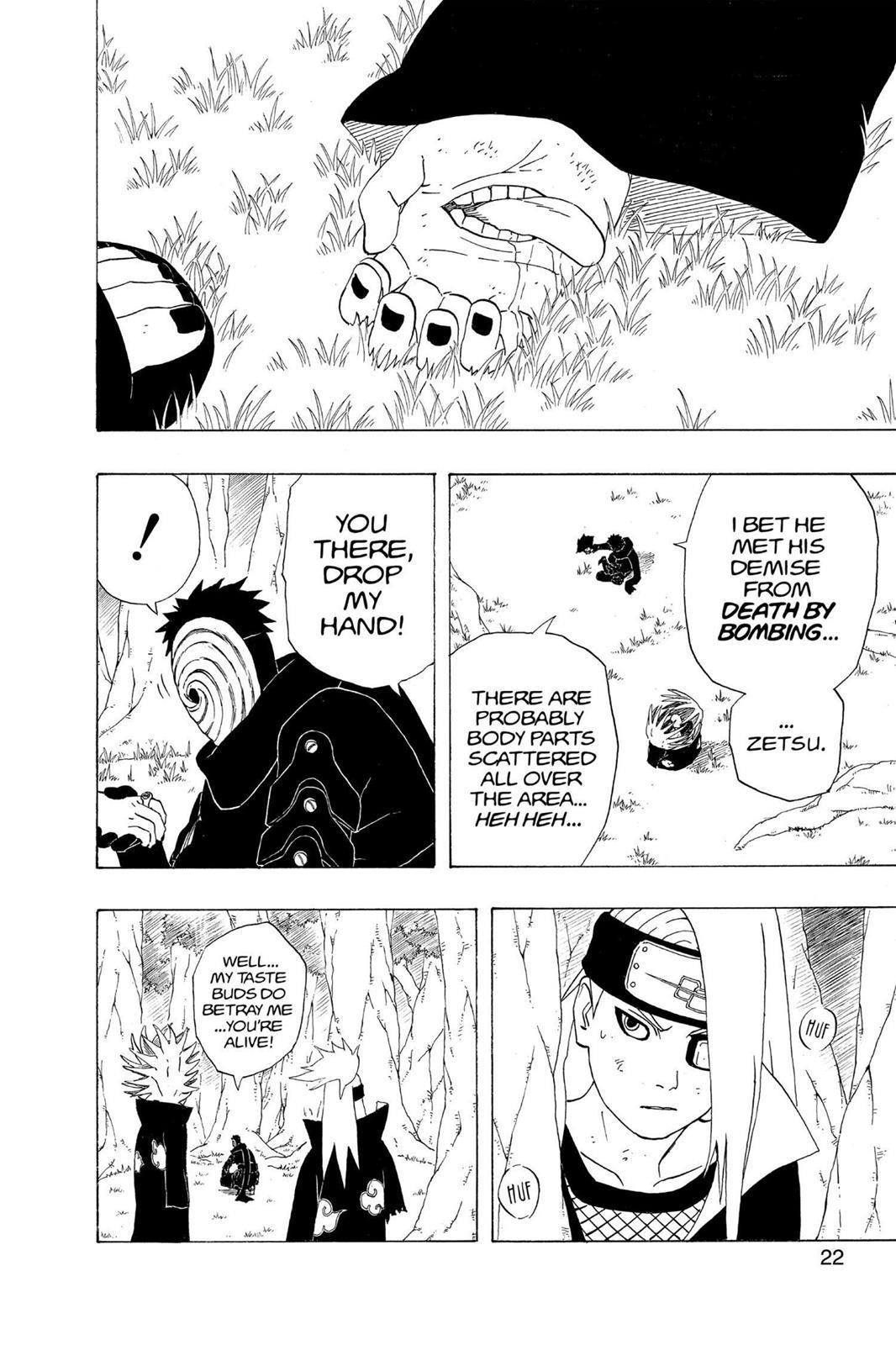 Naruto, Chapter 281 image 022