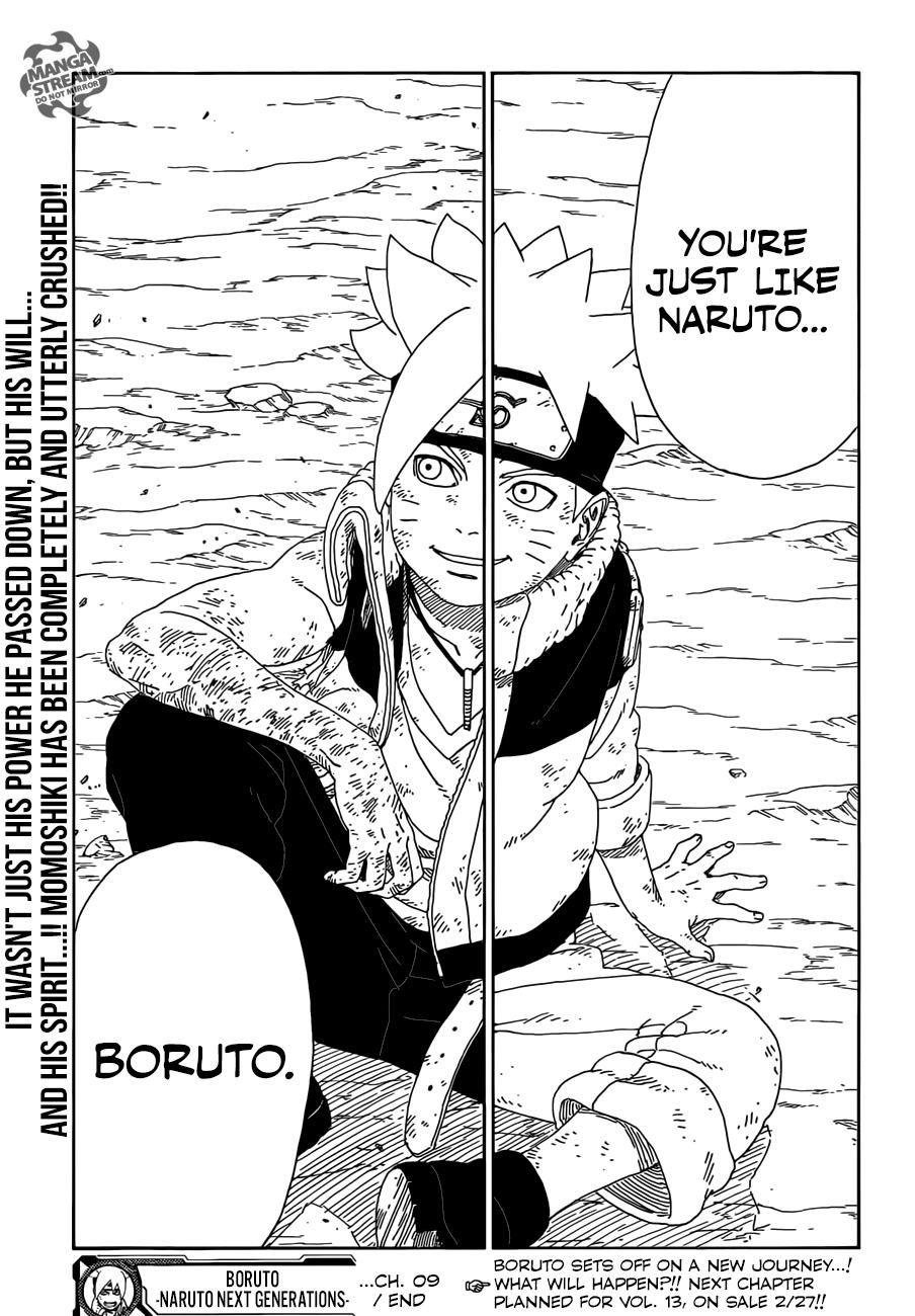 Boruto Manga, Chapter 9 image 046