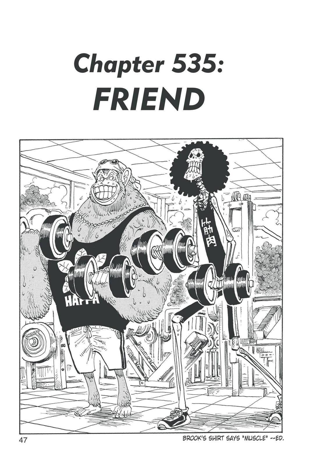 One Piece, Chapter 535 image 001