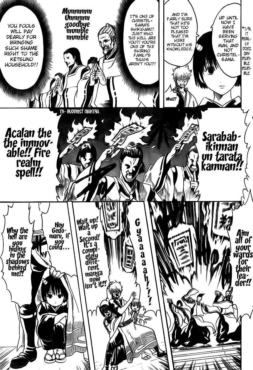 Gintama Chapter, 283 image 009