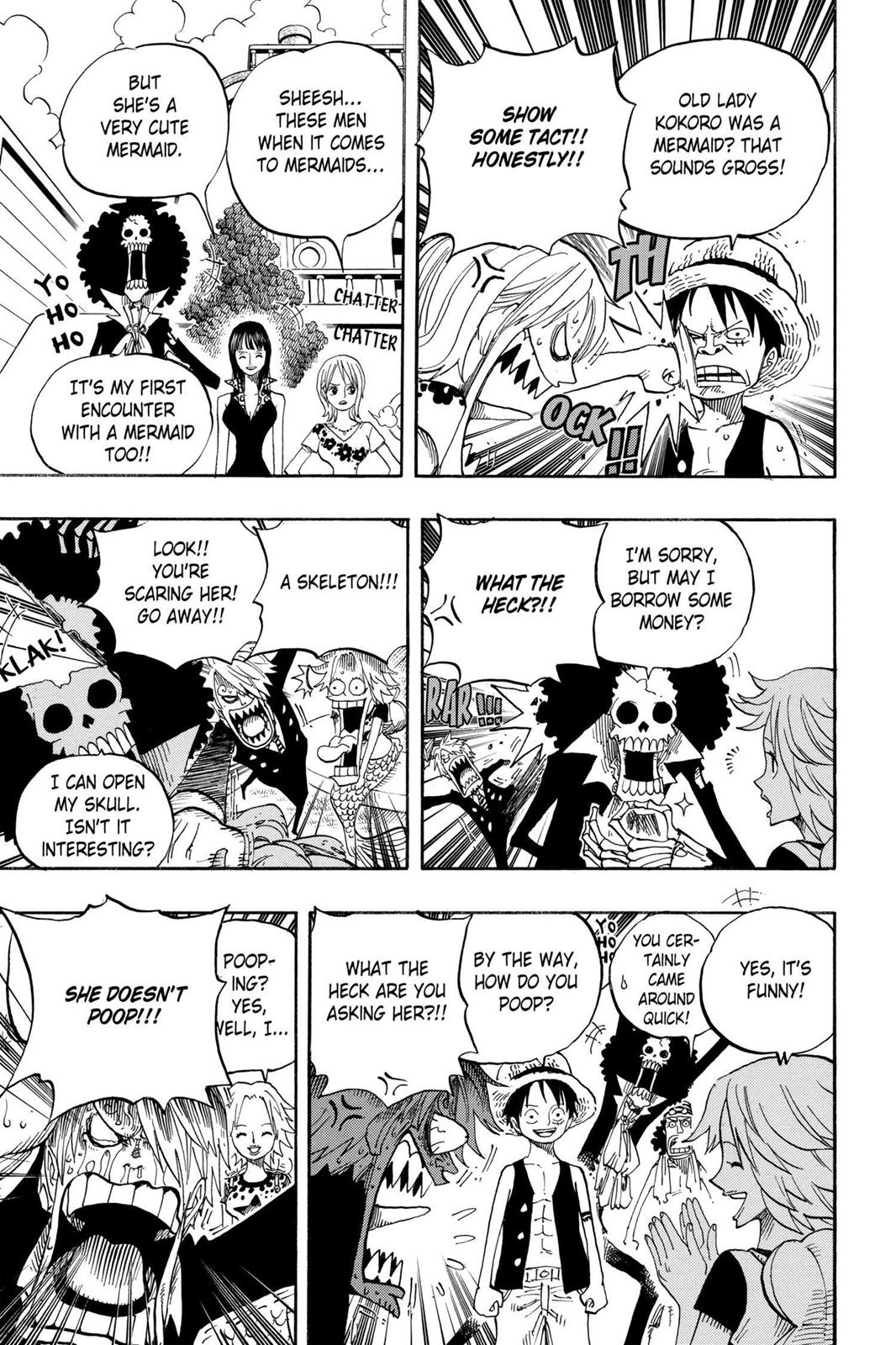 One Piece, Chapter 491 image 003