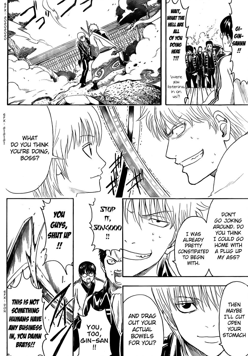 Gintama Chapter, 425 image 012