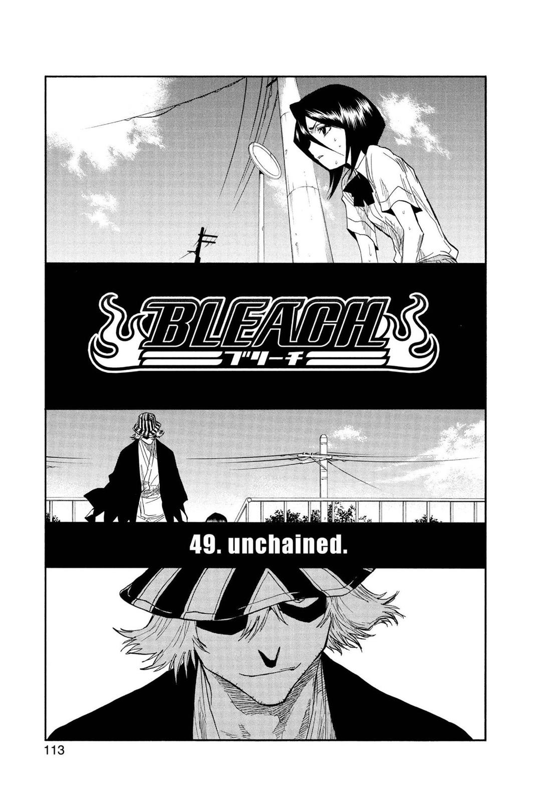 Bleach, Chapter 49 image 005