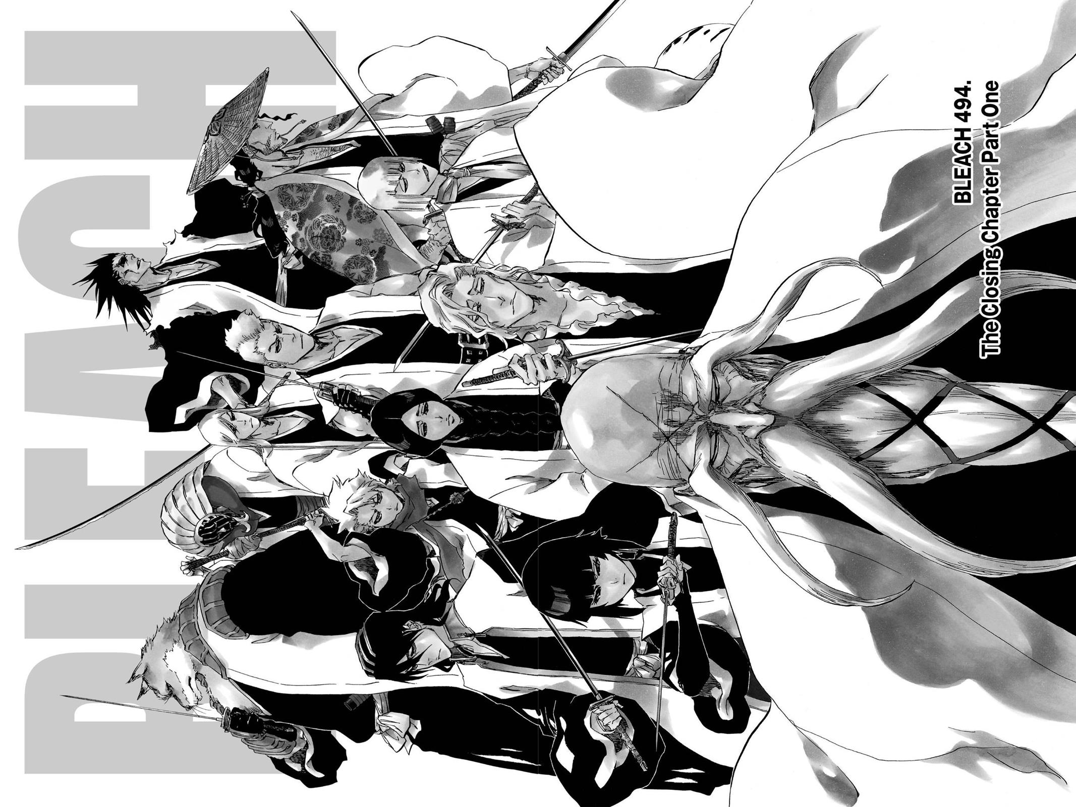 Bleach, Chapter 494 image 002