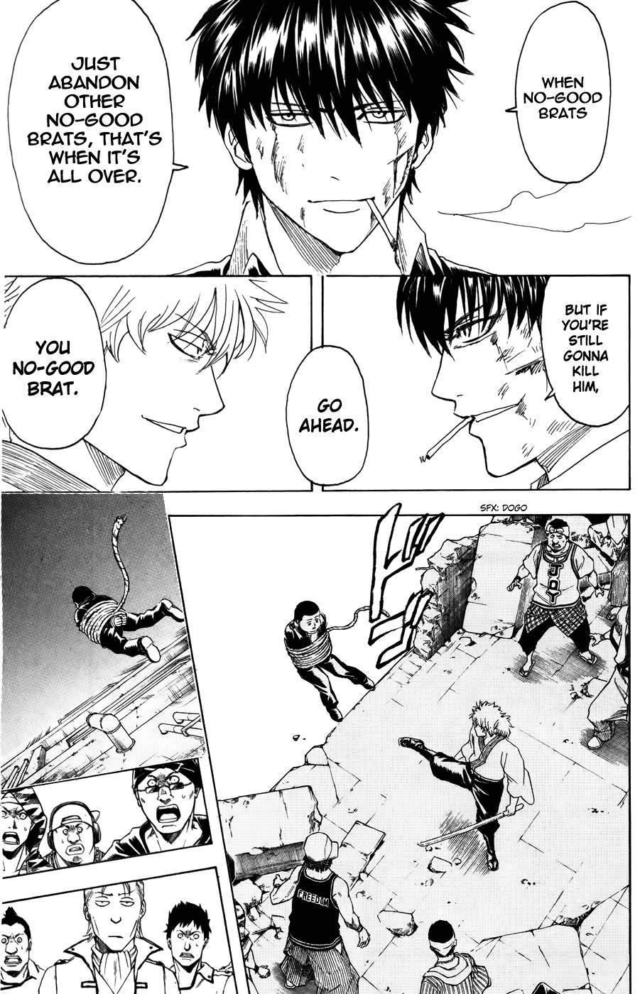 Gintama Chapter, 369 image 012
