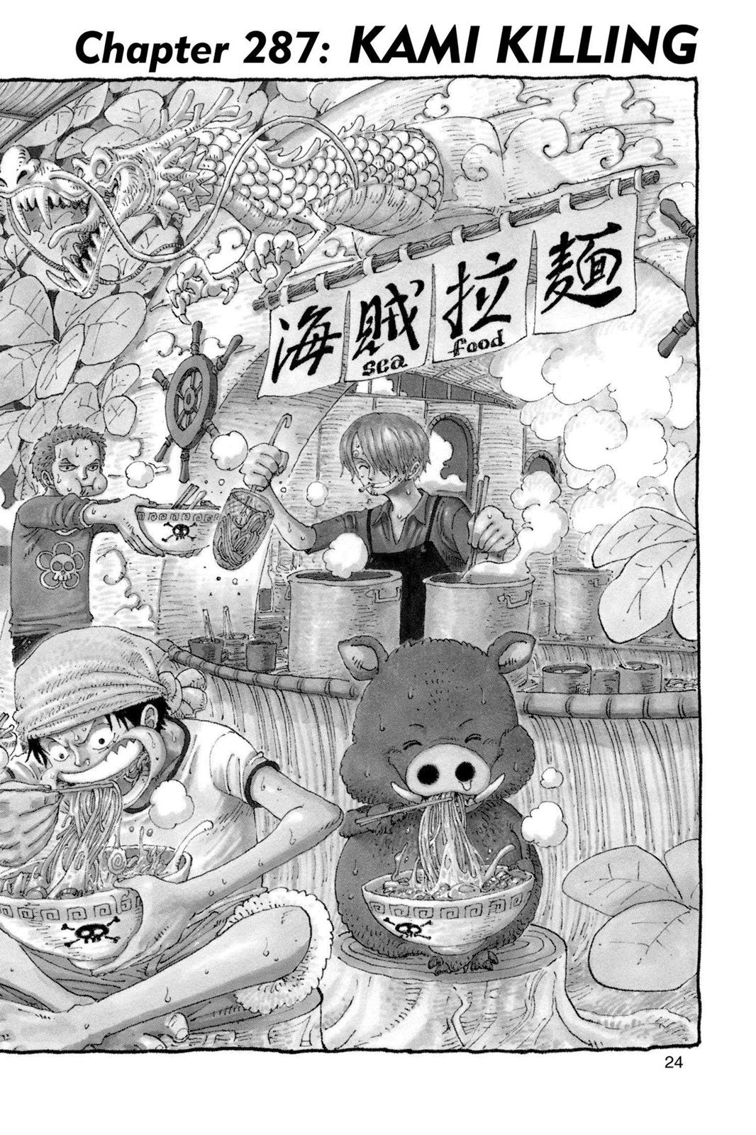 One Piece, Chapter 287 image 001