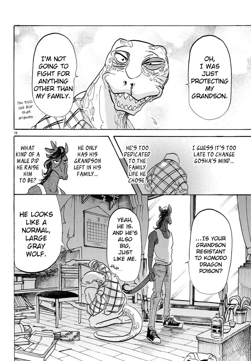 Beastars Manga, Chapter 112 image 016