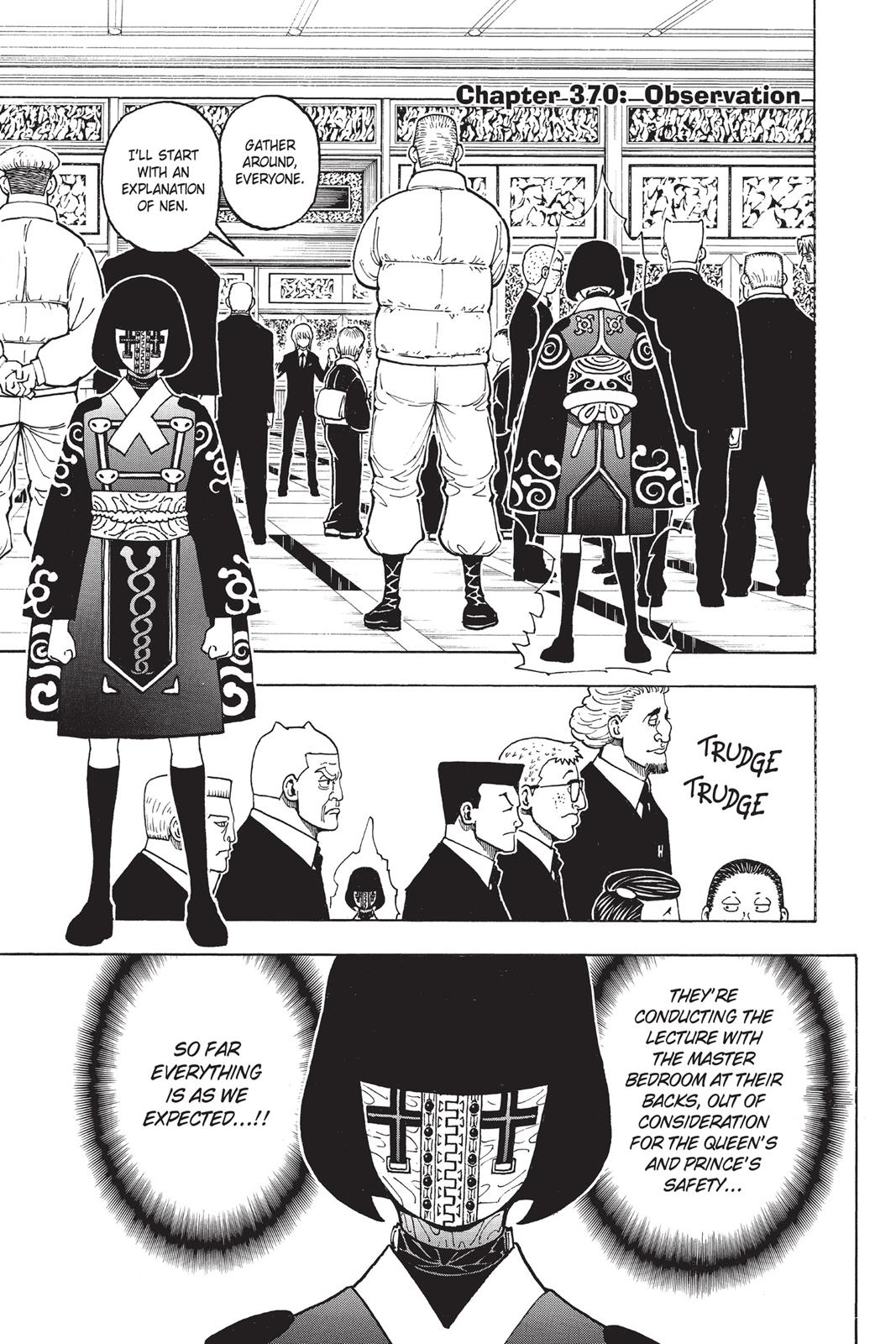 Hunter X Hunter, Chapter 370 image 001