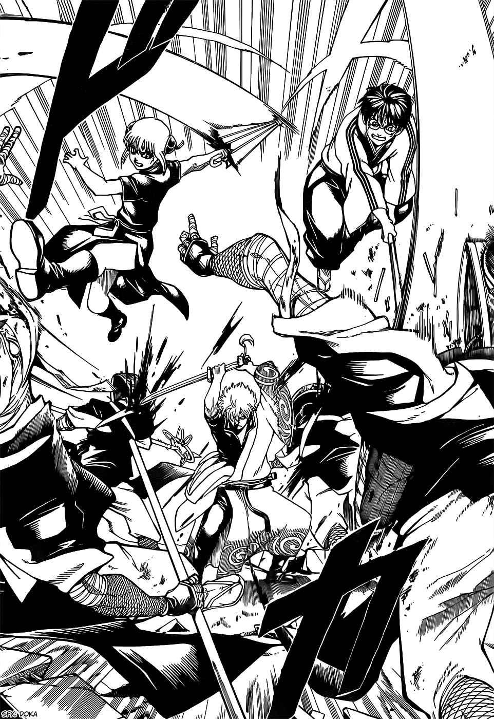 Gintama Chapter, 659 image 008