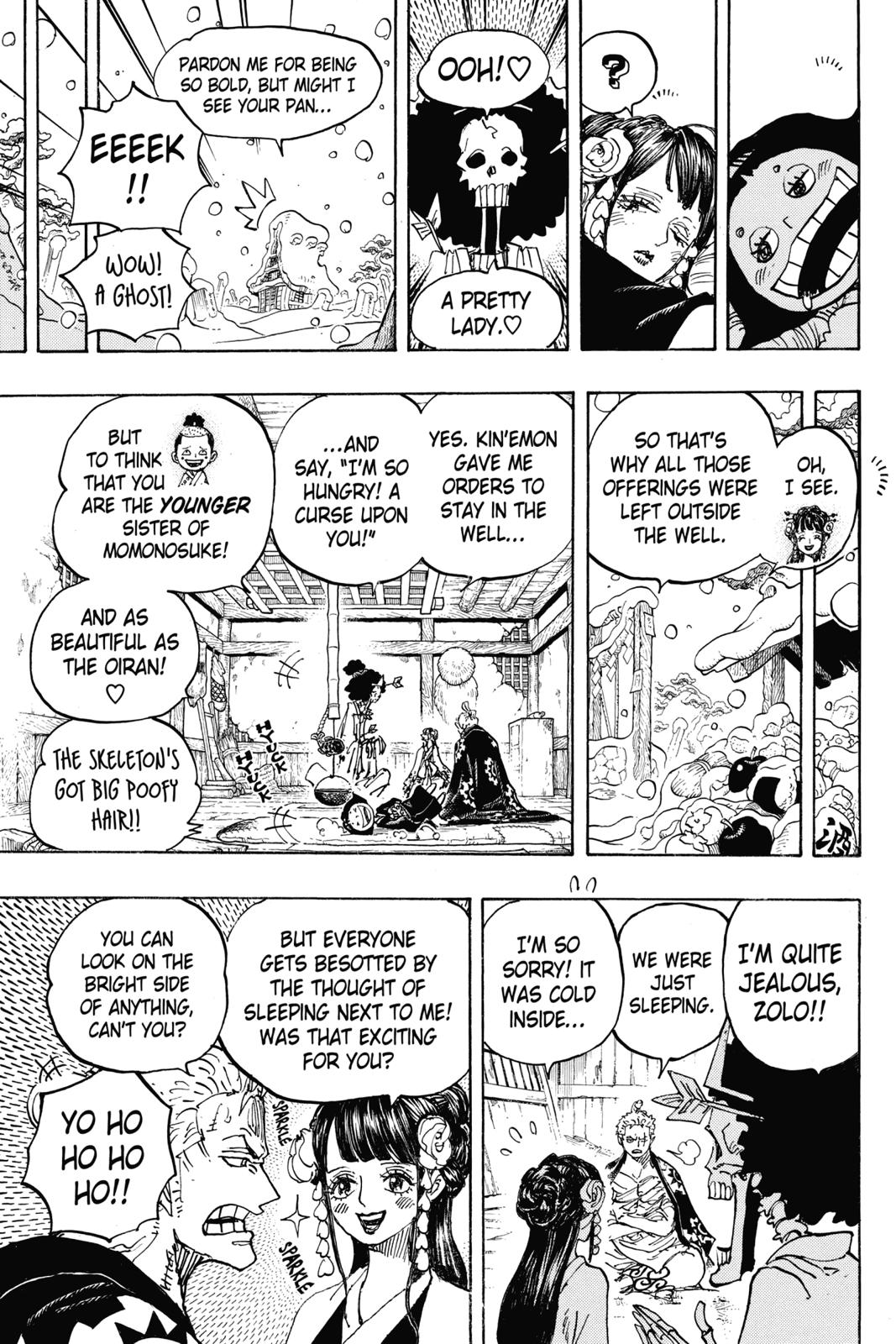 One Piece, Chapter 941 image 011