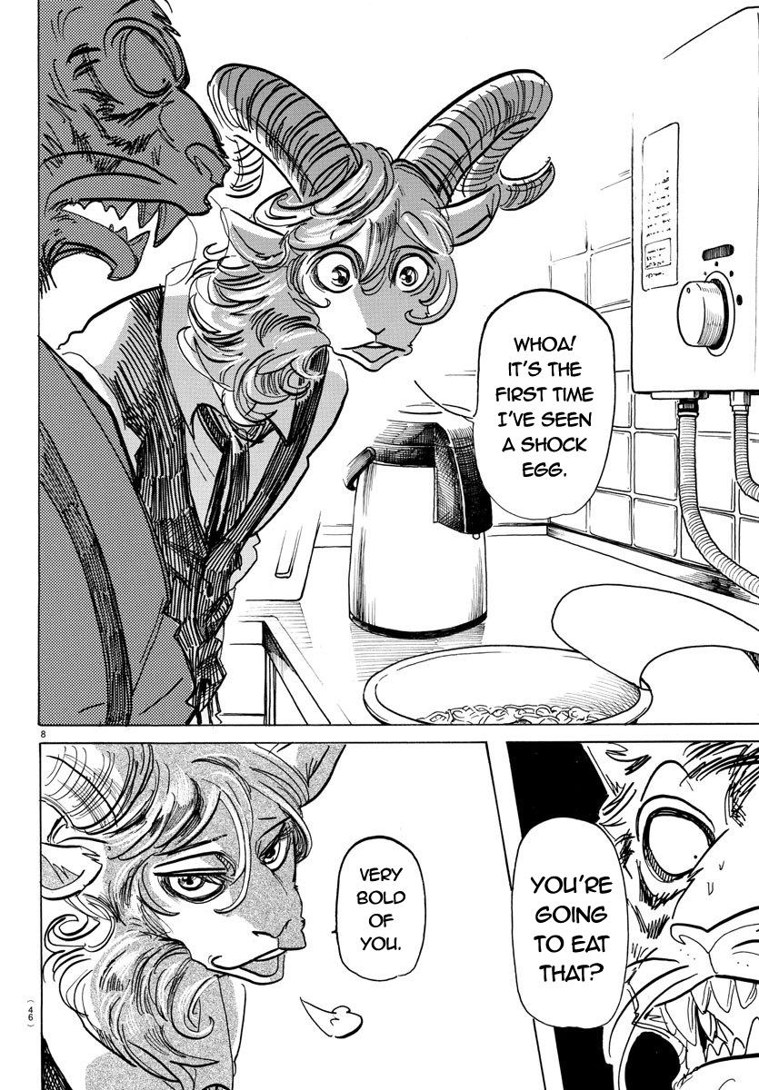 Beastars Manga, Chapter 155 image 008