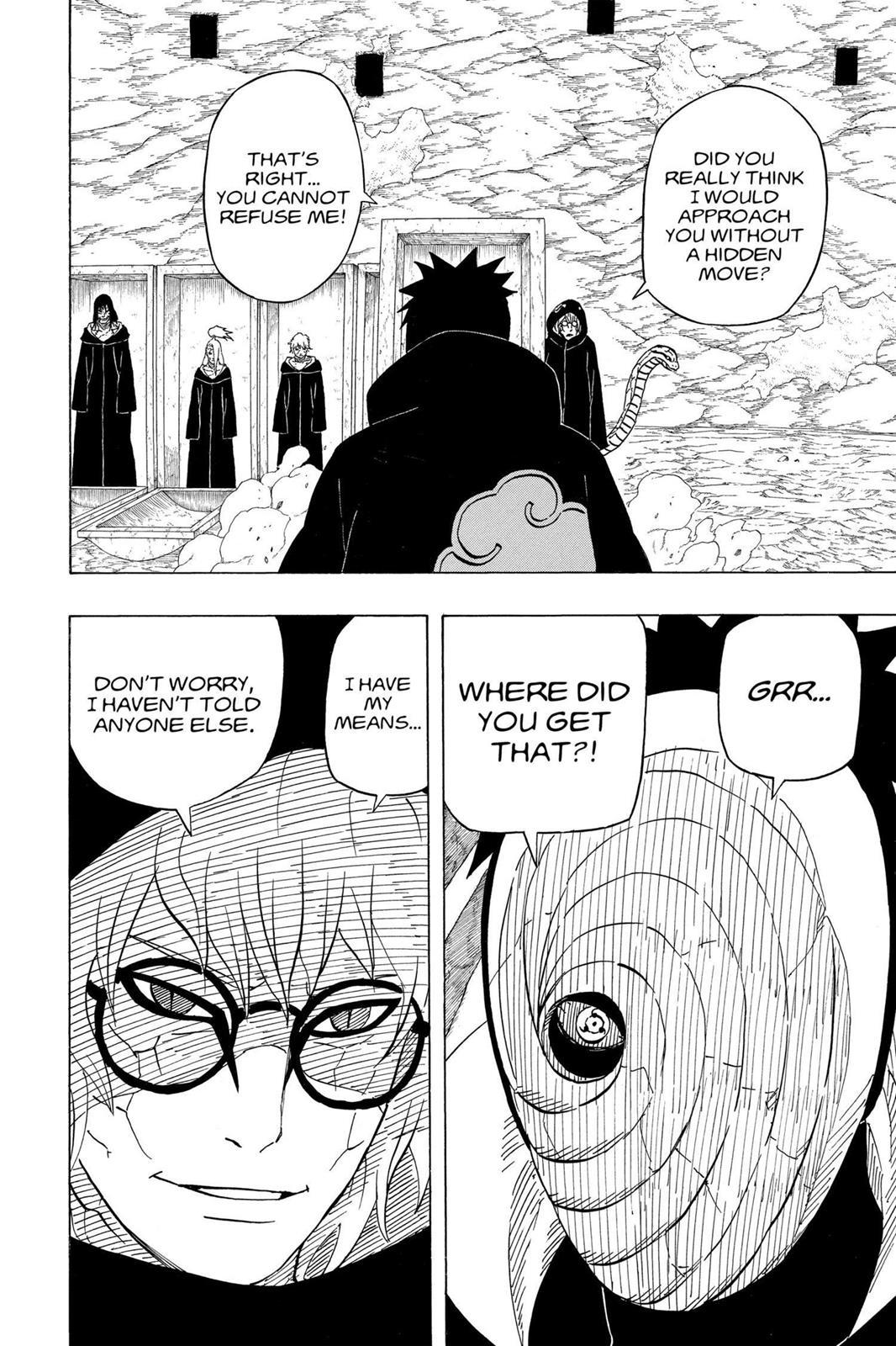Naruto, Chapter 490 image 004