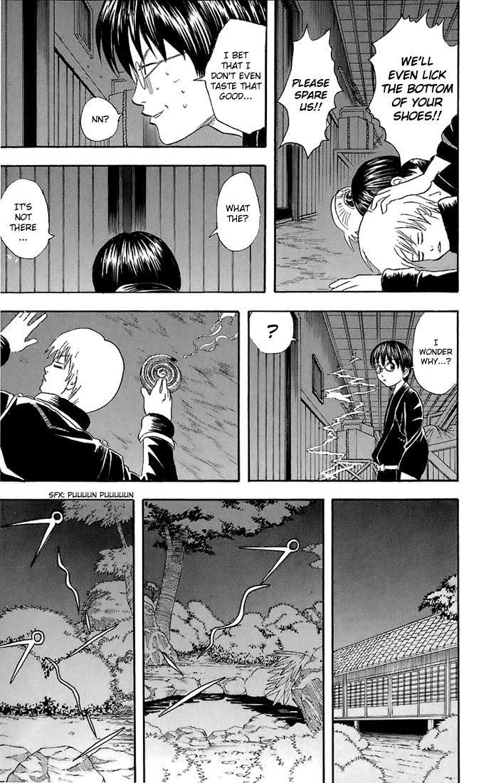 Gintama Chapter, 34 image 012