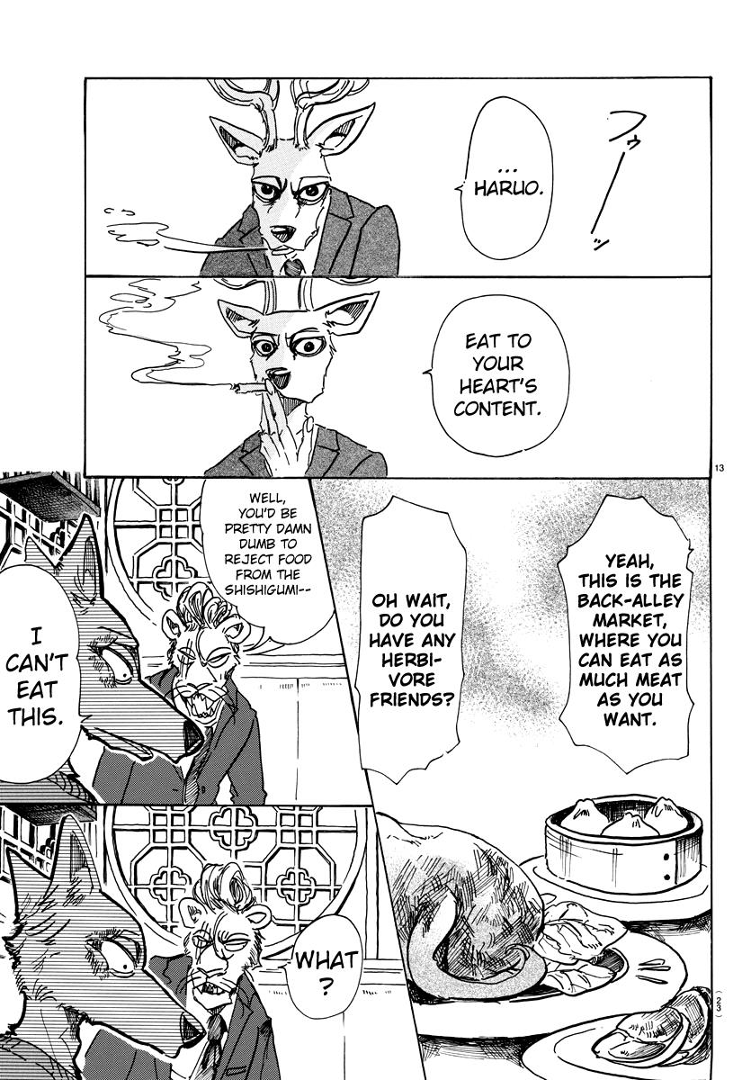 Beastars Manga, Chapter 75 image 012
