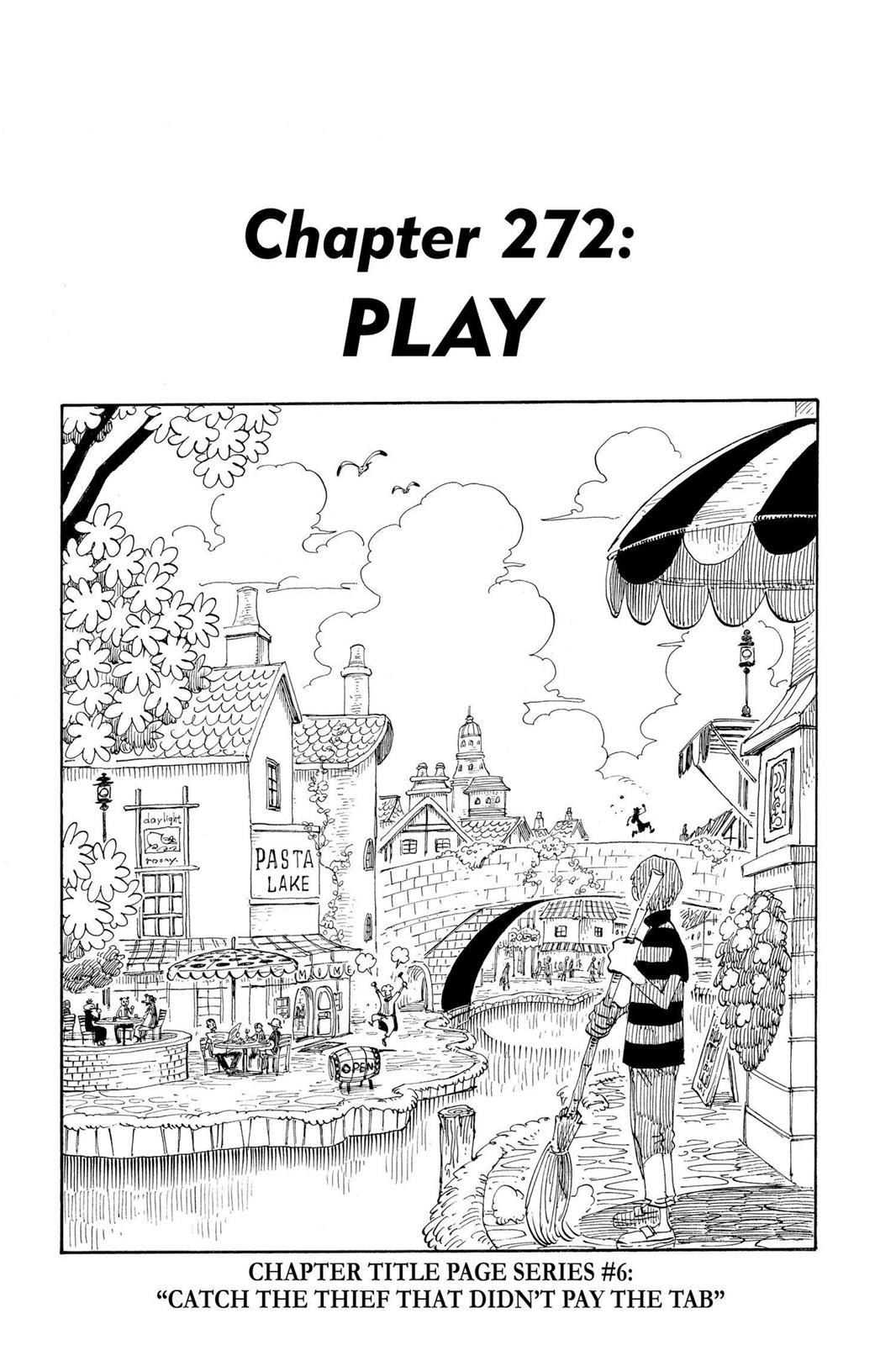 One Piece, Chapter 272 image 001