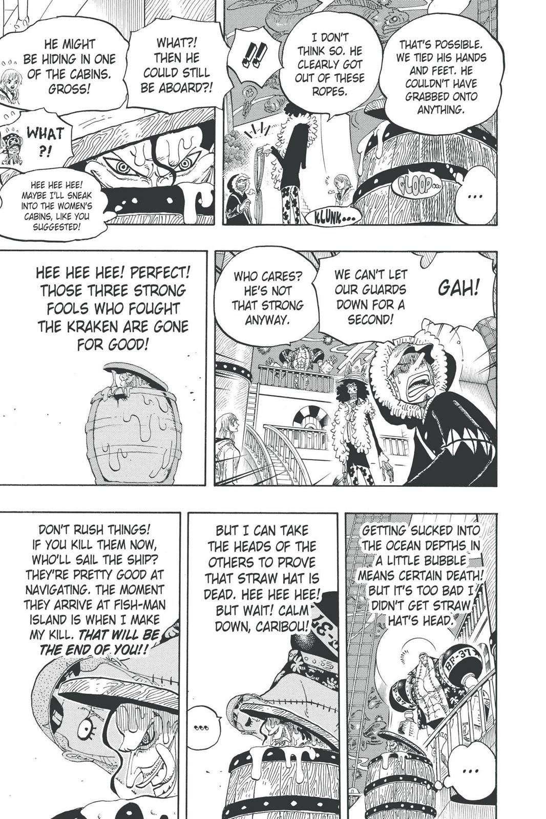 One Piece, Chapter 606 image 005