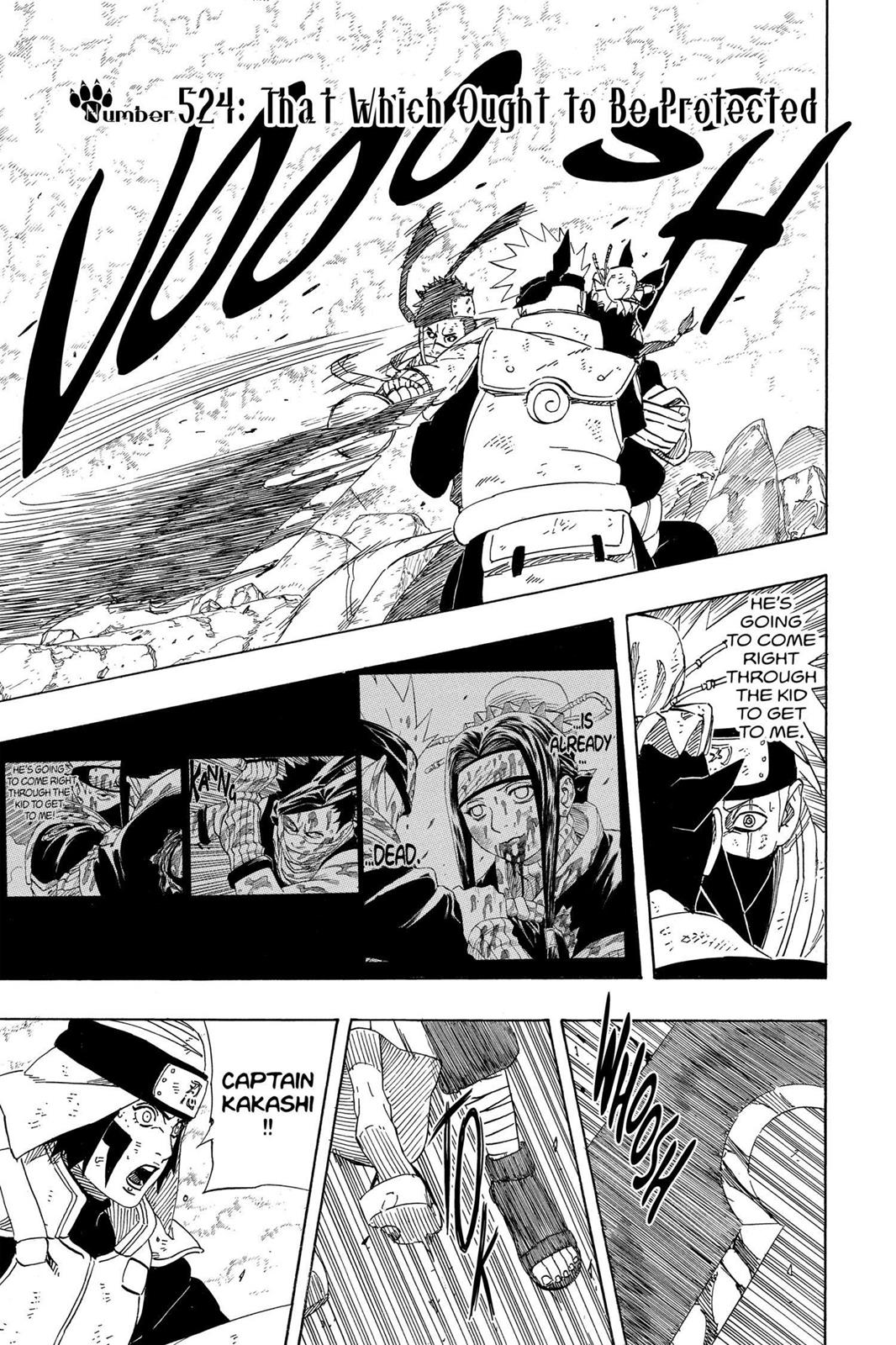 Naruto, Chapter 524 image 001