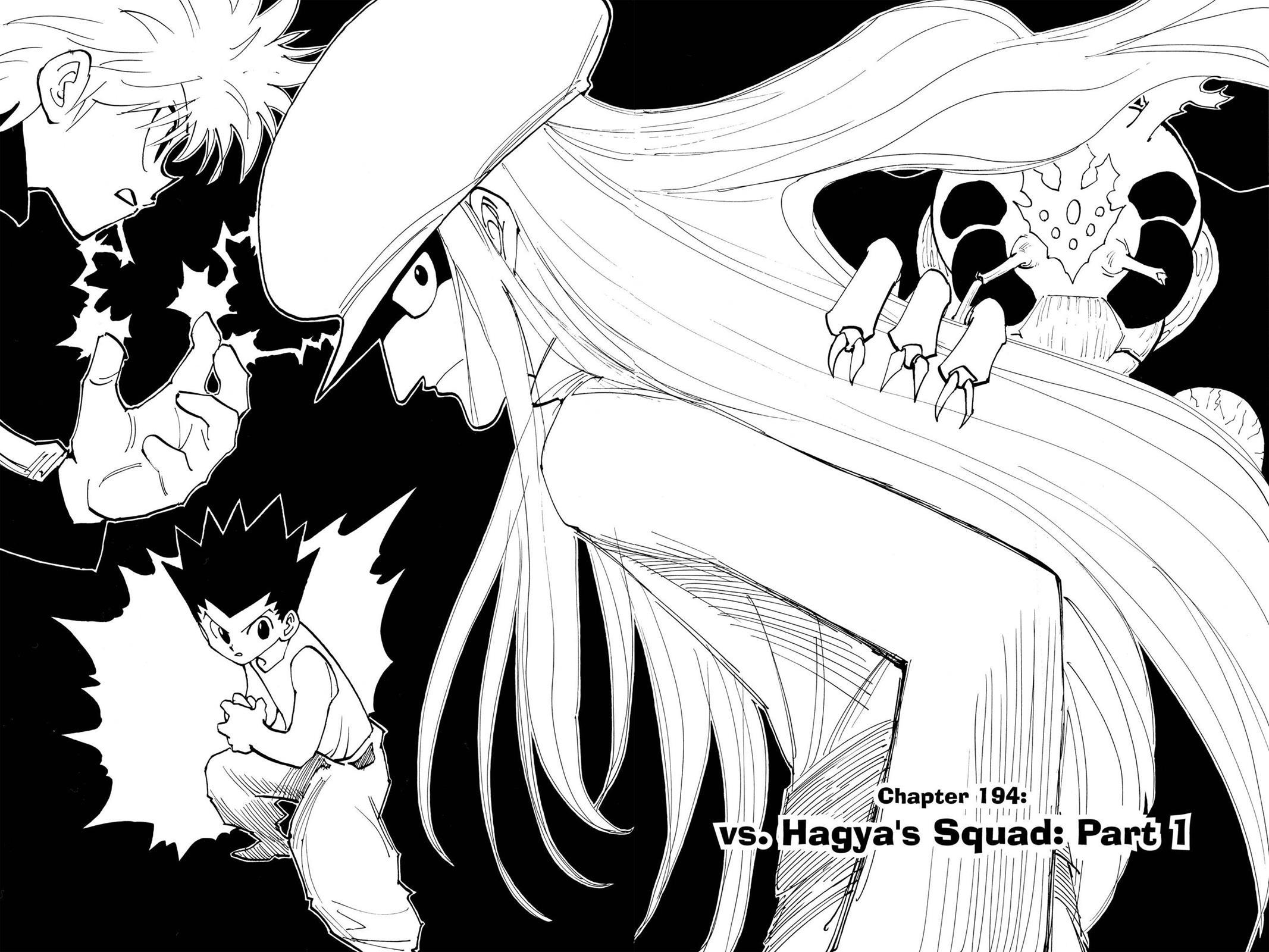 Hunter X Hunter, Chapter 194 image 002