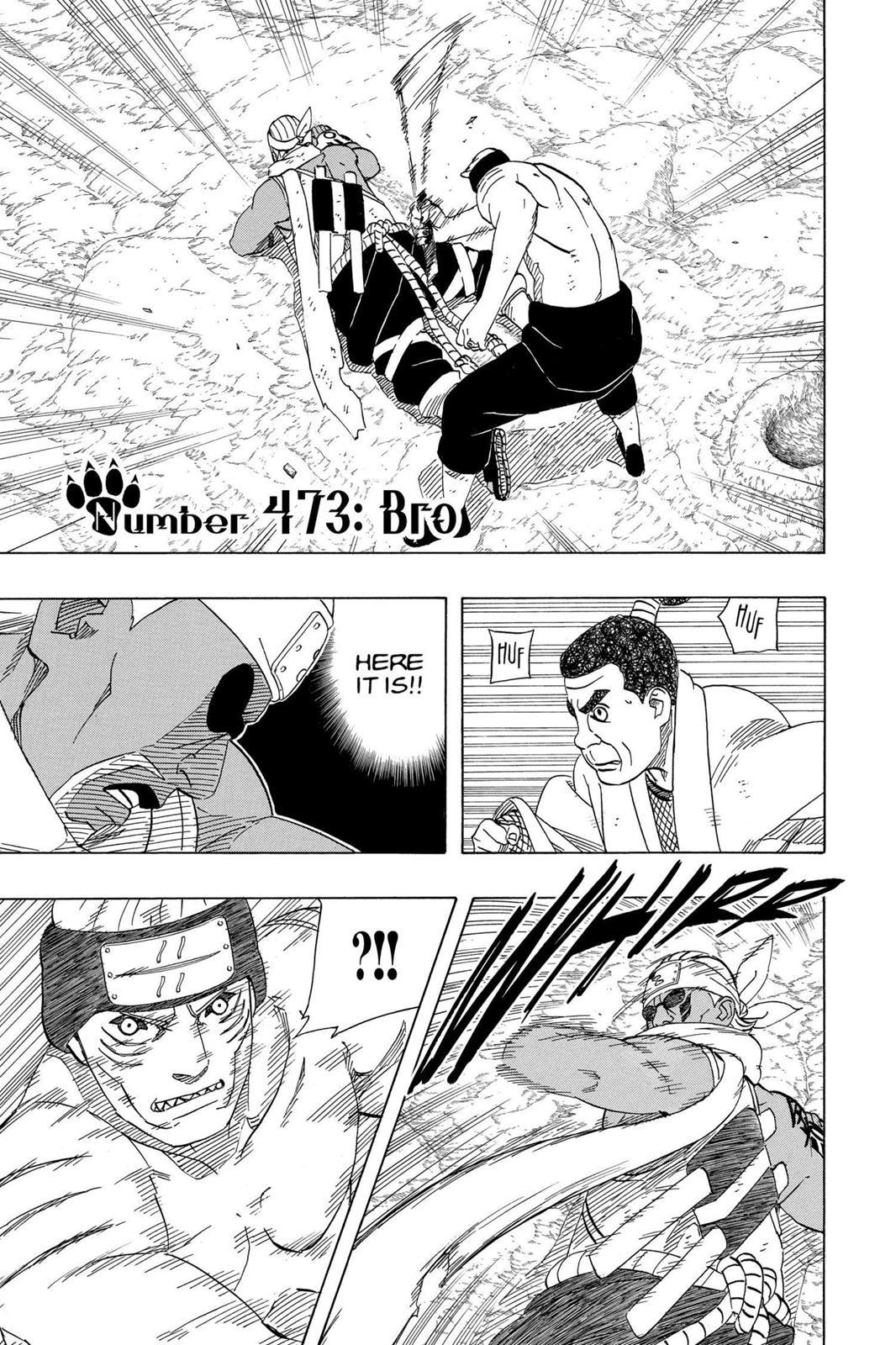 Naruto, Chapter 473 image 001