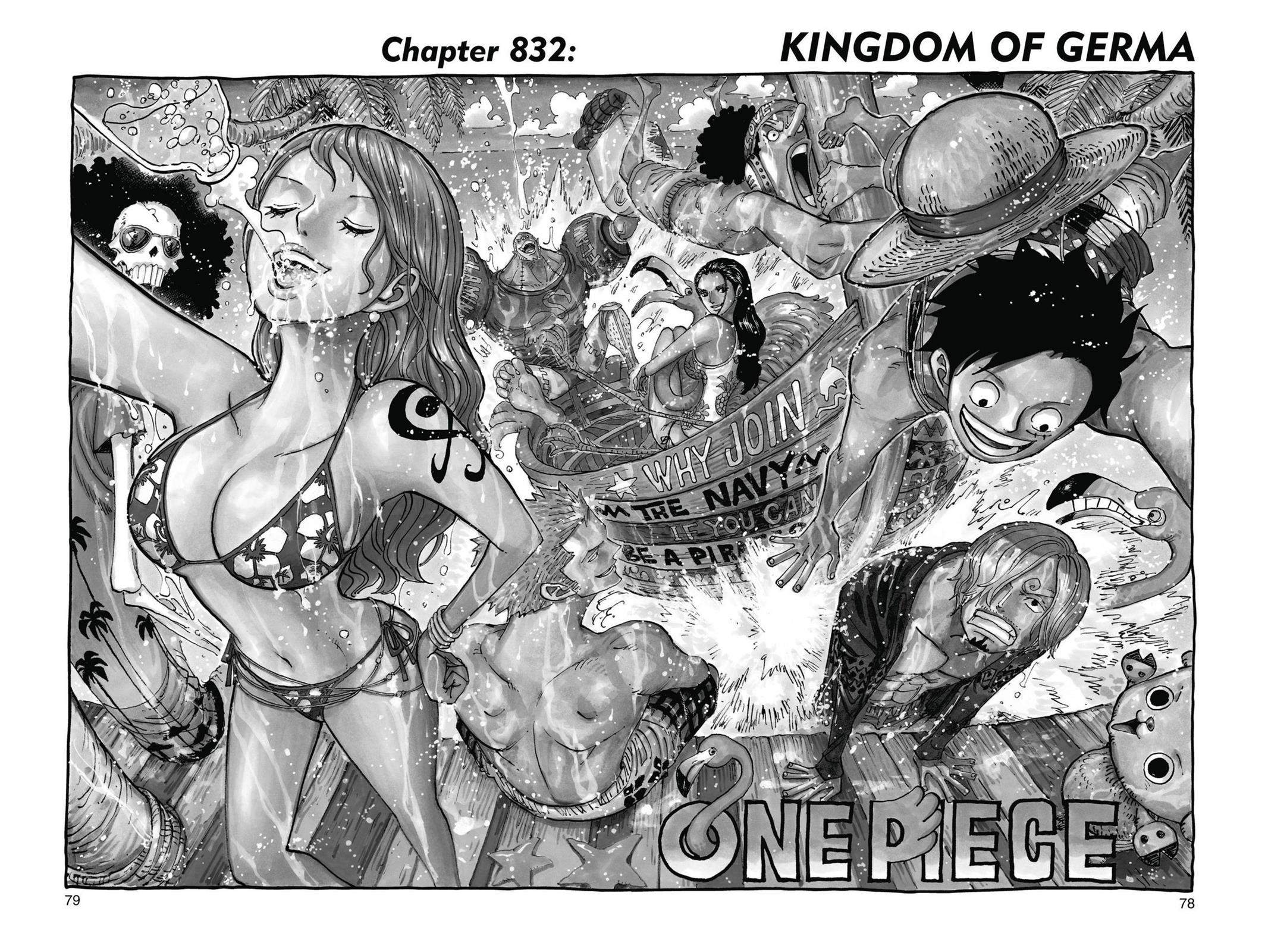 One Piece, Chapter 832 image 001