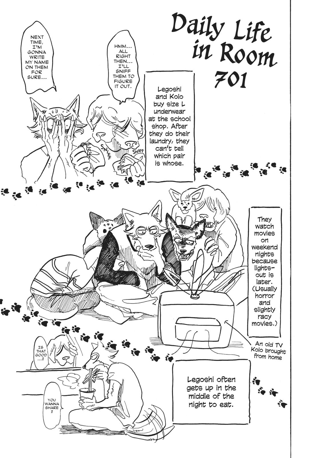 Beastars Manga, Chapter 52 image 021