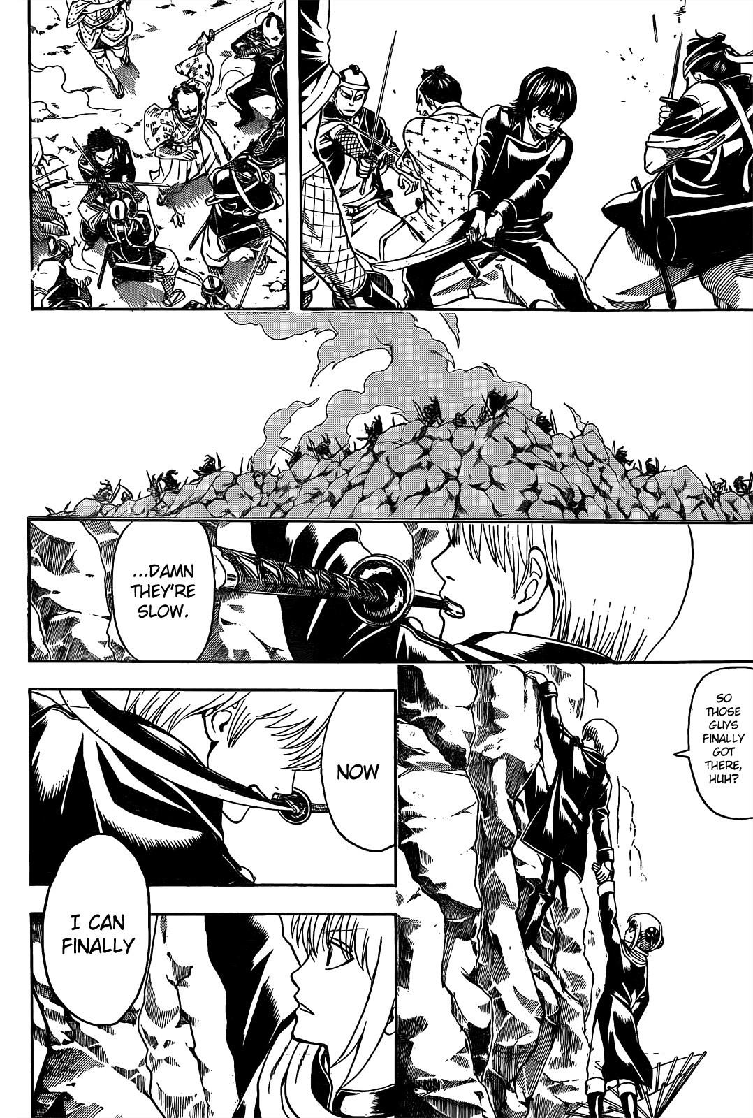 Gintama Chapter, 535 image 006