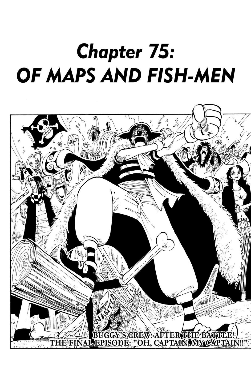 One Piece, Chapter 75 image 001