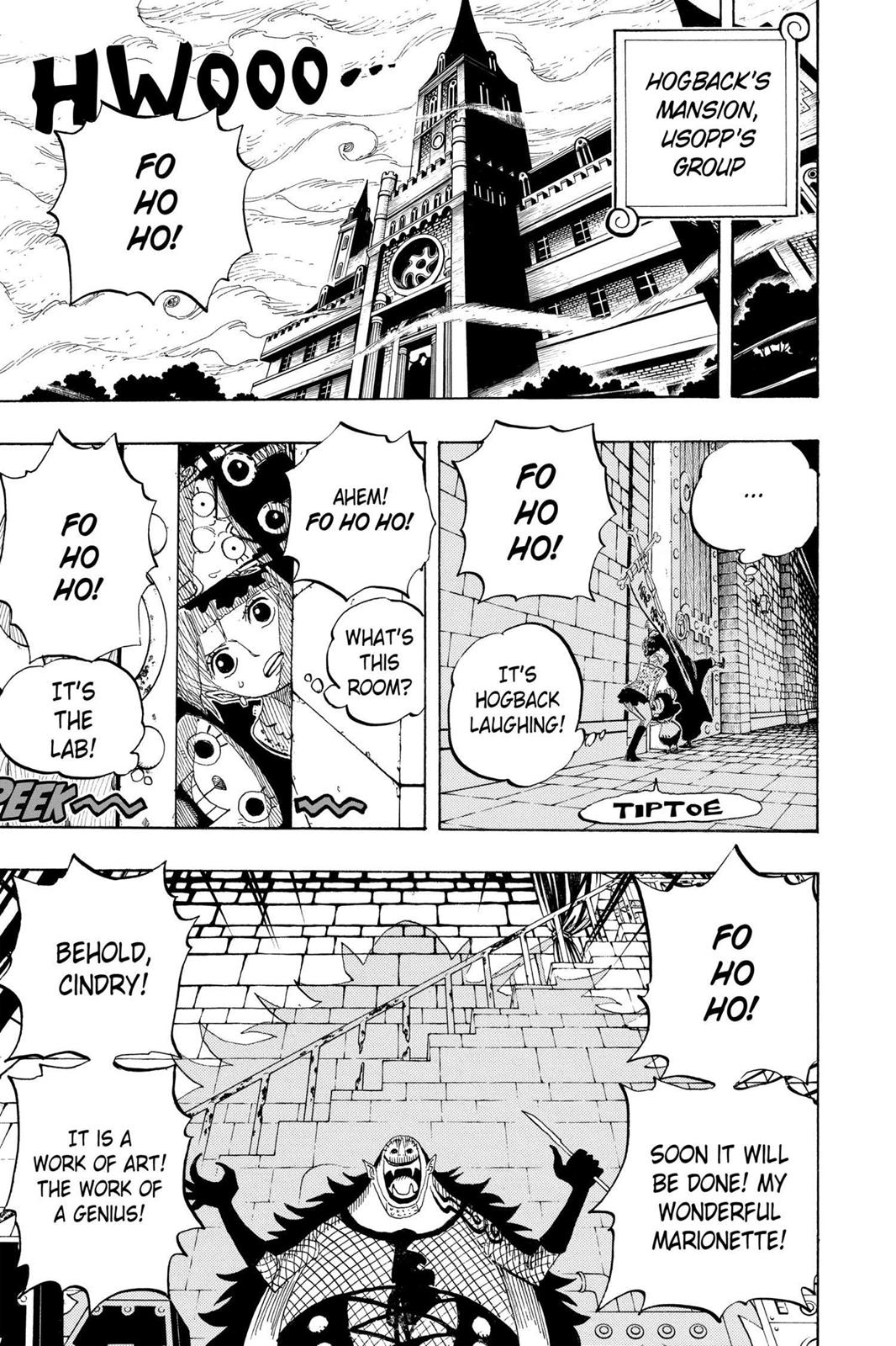 One Piece, Chapter 449 image 006