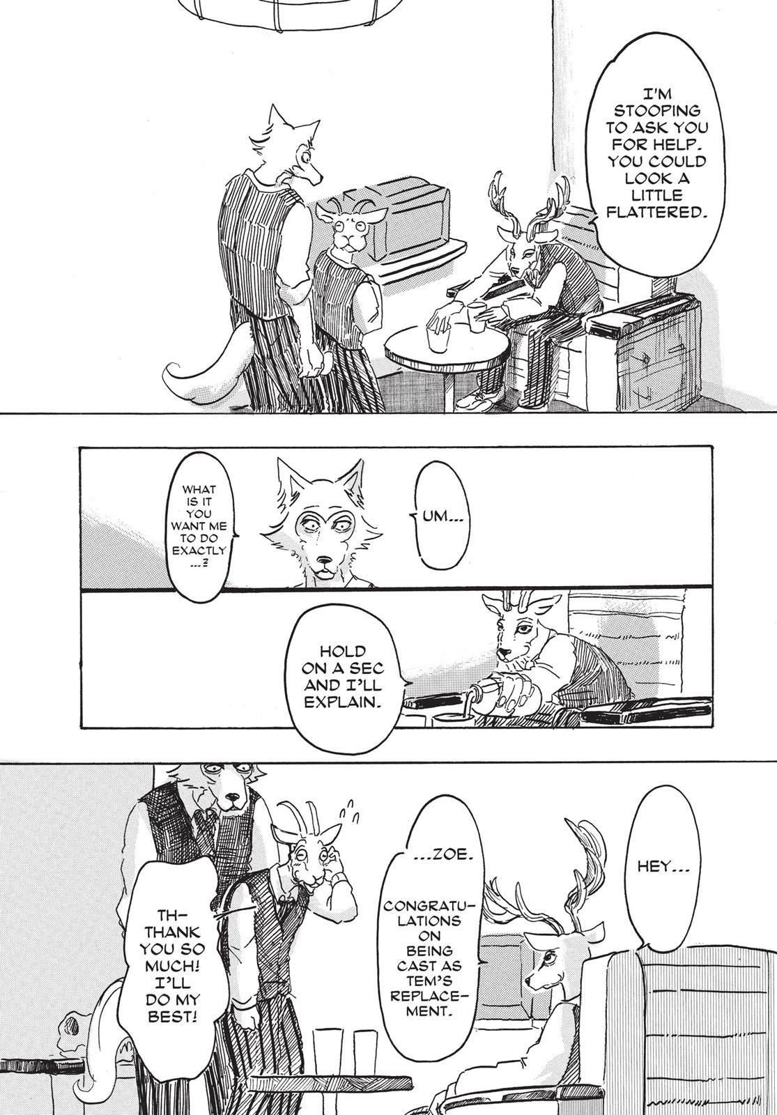 Beastars Manga, Chapter 3 image 006