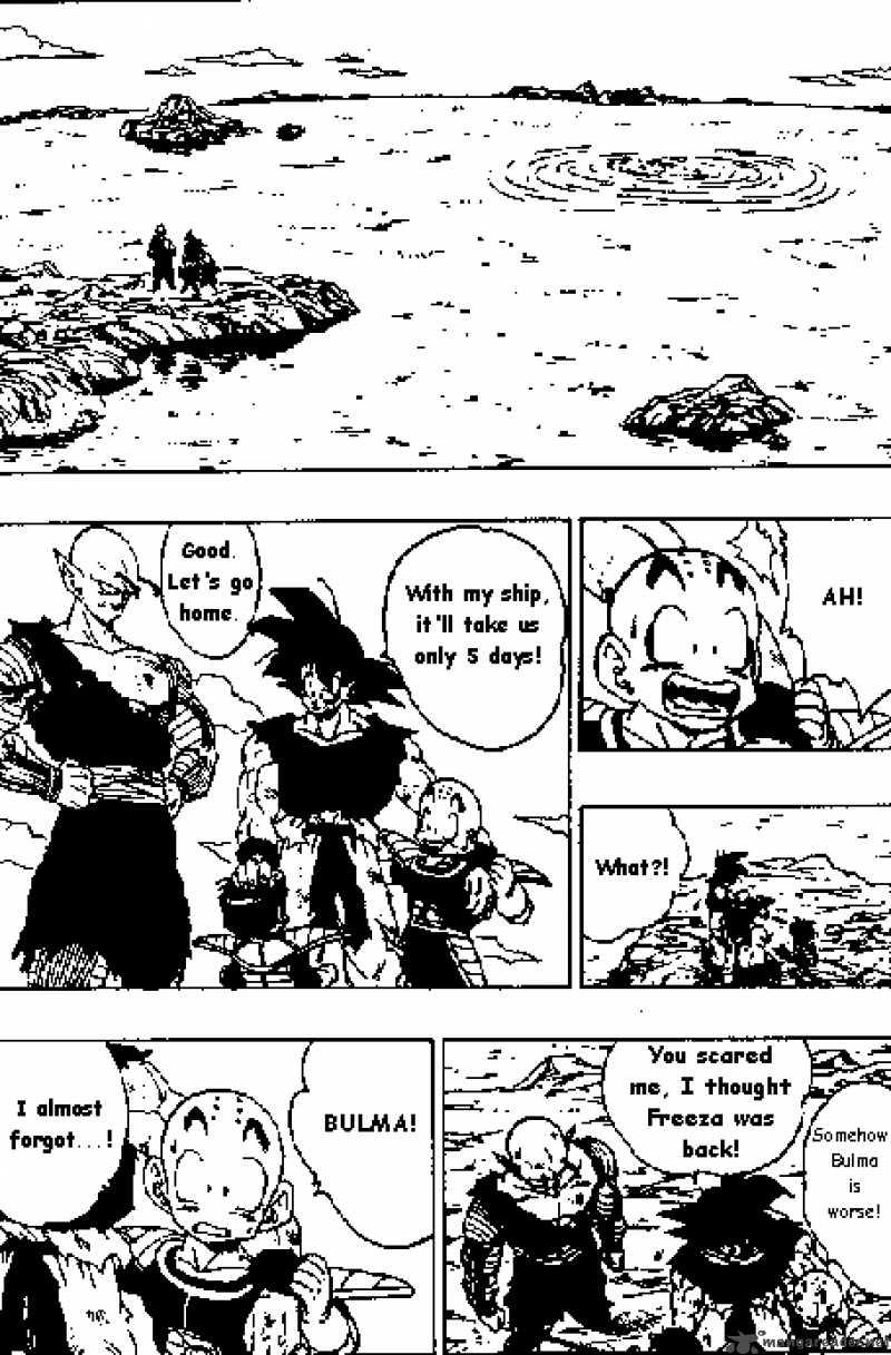 Dragon Ball, Chapter 317 image 005