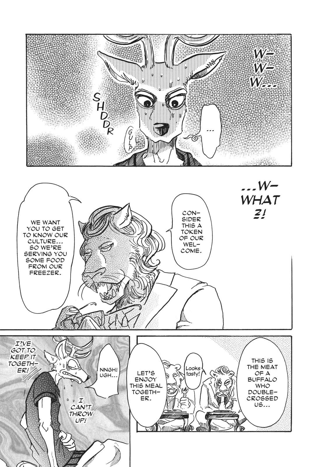 Beastars Manga, Chapter 51 image 015