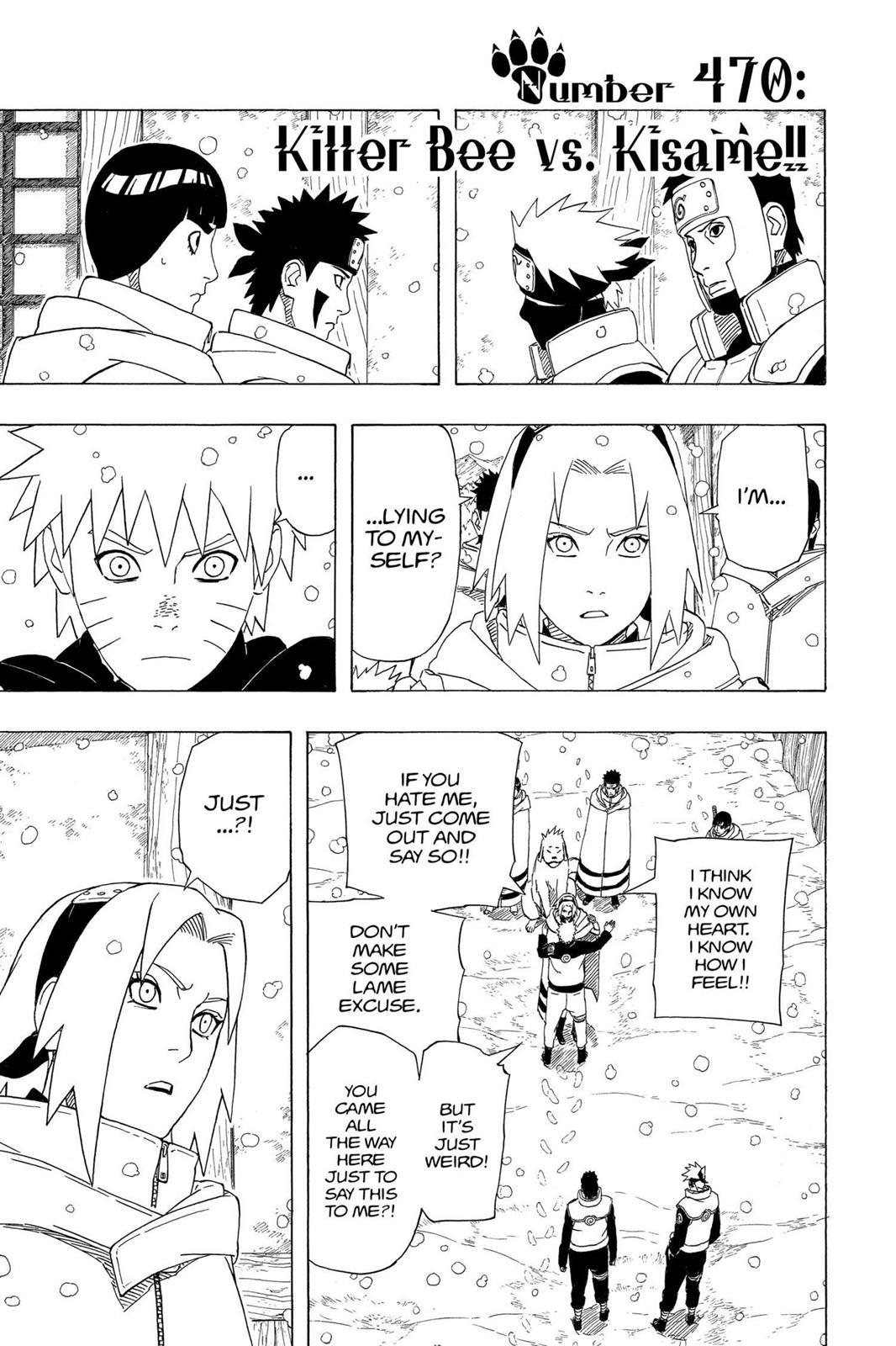 Naruto, Chapter 470 image 001