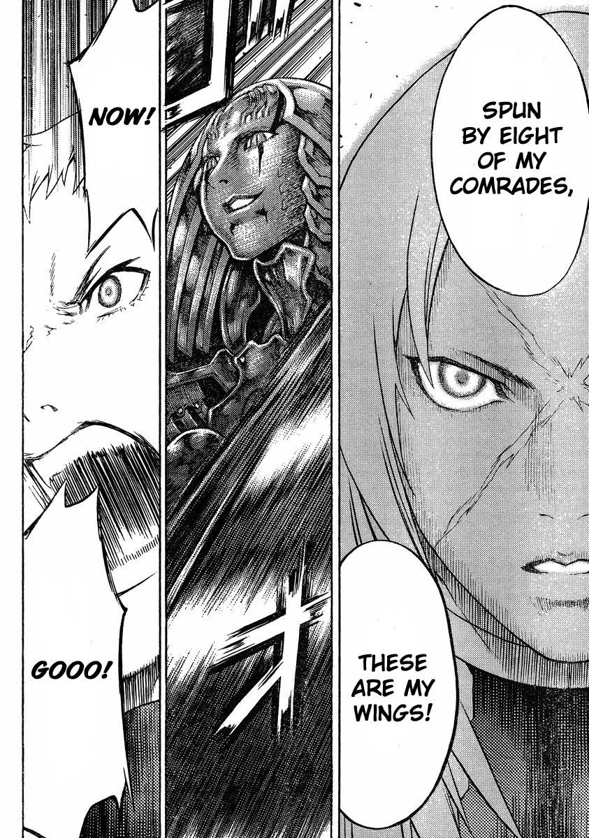 Claymore, Chapter 124 image 028
