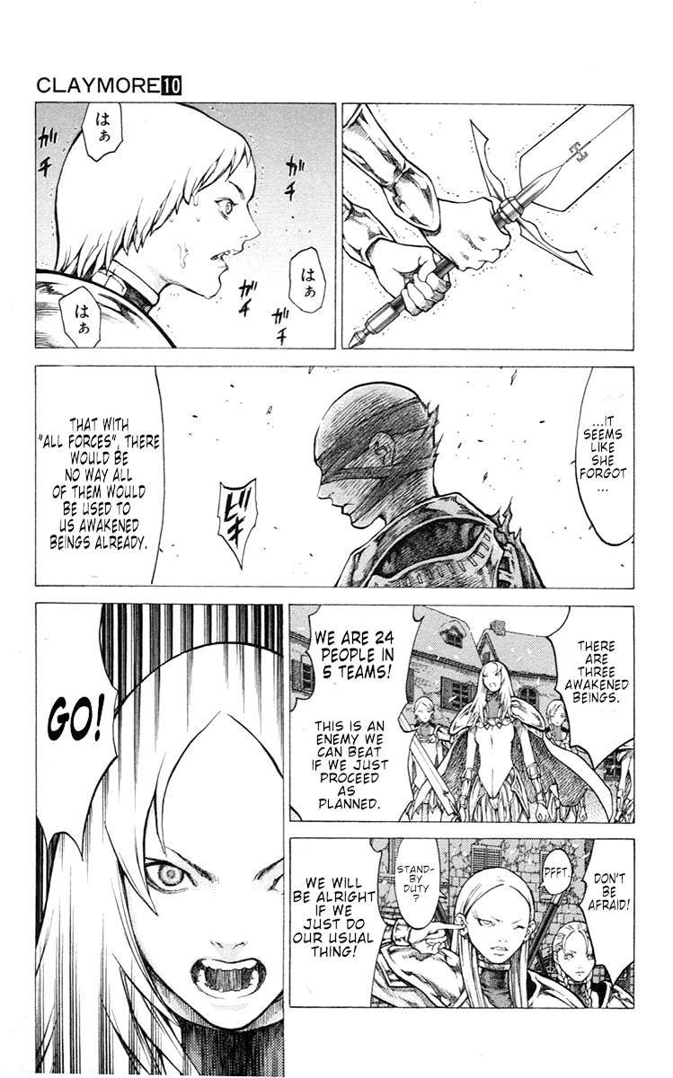 Claymore, Chapter 52 image 020