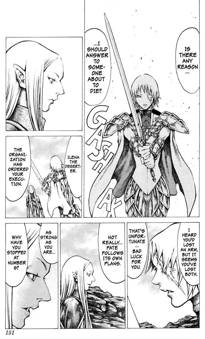 Claymore, Chapter 38 image 027