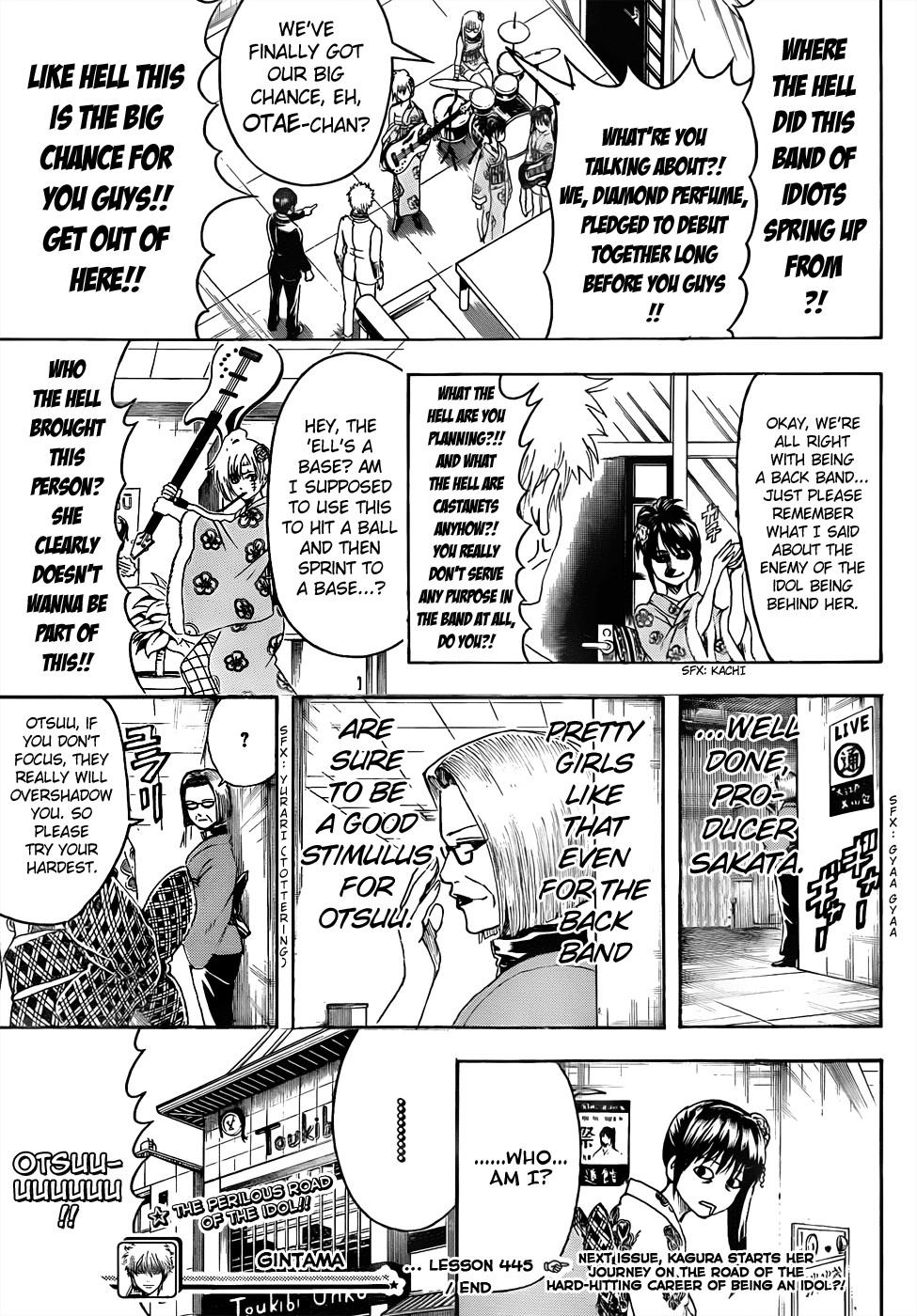 Gintama Chapter, 445 image 019